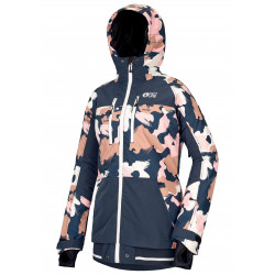 veste picture lander print pink painter