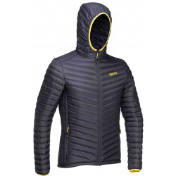 Vertical Down Jacket dark grey