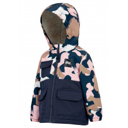veste picture enfant snowy pink painter