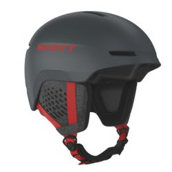Scott Track Iron Grey red