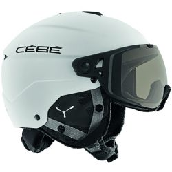 CEBE Element Visor Matt White Variochrom Cat 1-3