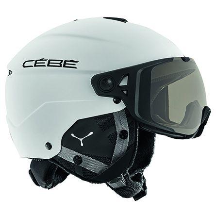 CEBE Element Visor Matt White Variochrom Cat 1-3