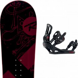 ROSSIGNOL CIRCUIT + BATTLE Black red