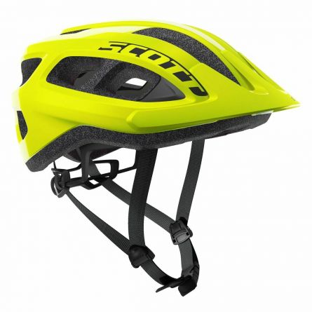 Casque Scott Supra Yellow Fluorescent