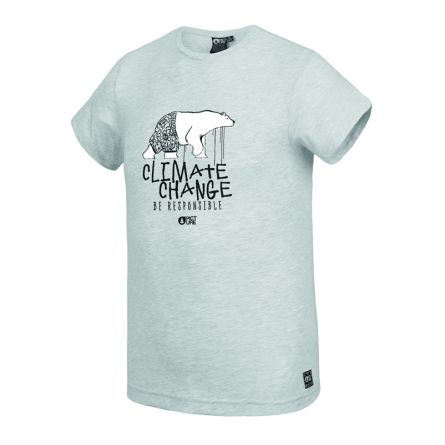 Picture Nanuq Tee Light Grey Melange