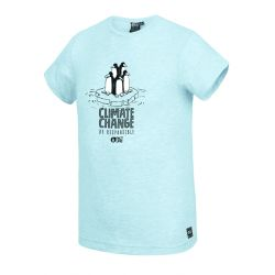 Picture Timmiaq Tee Pale Blue Melange