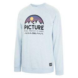 Picture Bellevue Crew Sweat Pale Blue Melange