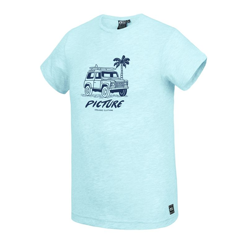 Picture Anglet Tee Pale Blue Melange