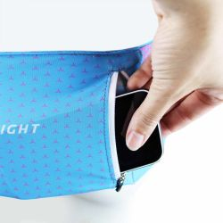 Raidlight Stretch Raider Belt W Blue/Pink