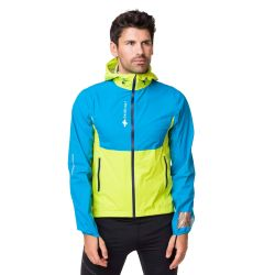 Raidlight Responsiv Mp + Jacket Lime Green Blue