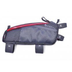 Acepac Sacoche de cadre Fuel Bag M Grey red