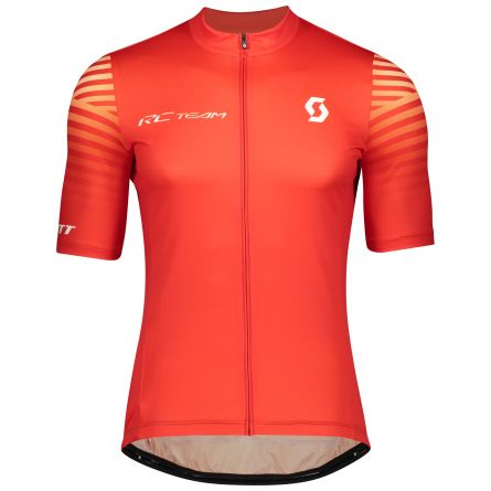 Maillot SCOTT RC Team 10 s/sl Fiery Red / White