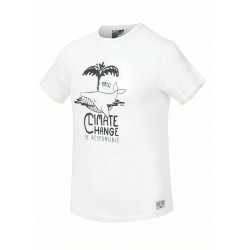 Picture whale Tee White
