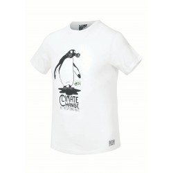 Picture carbon Tee White