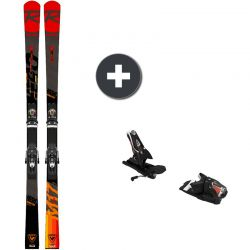 Rossignol Hero Master R22 + SPX 12 ROCKERACE BLACK/ICON