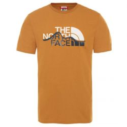 The North Face S/S Mountain Line Tee Timber Tan