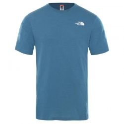 The North Face S/S Redbox Tee Mallard Blue / TNF Black