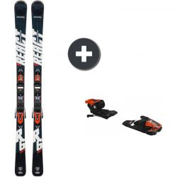 Rossignol React 6 Compact + XP 11 GW Bk / Hot Red