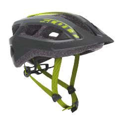 Casque Scott Supra Black radium yellow