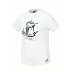 Picture Glass Tee White