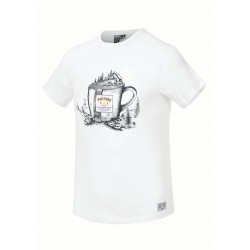 Picture cup Tee White