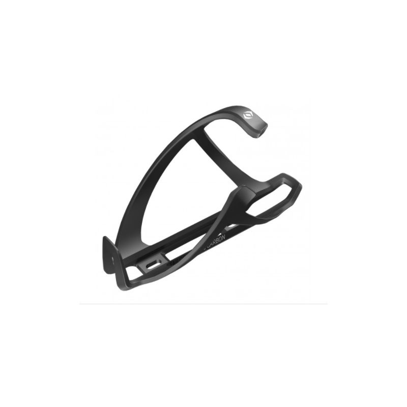 Syncros Porte-Bidon Carbon Tailor Cage 1.0 Droit Noir blanc