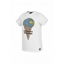 Picture melted tee white