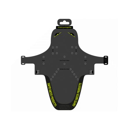 Garde-boue EnduroGuard - Large (fourche 120 à 200mm) - noir/vert fluo