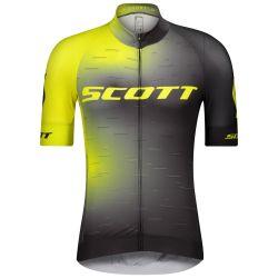 Maillot SCOTT RC Pro s/sl Sulphur Yellow/Black