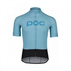 POC essential road logo jersey blue