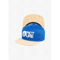 Picture Qilo cap electric blue