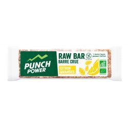 PUNCH POWER RAW Bar Citron amande