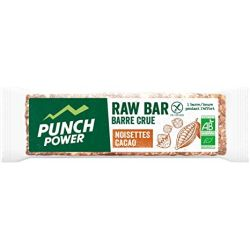 PUNCH POWER RAW Bar Noisette Cacao