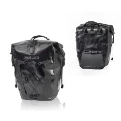 sacoches XLC hydrofuge noir 21x18x46cm