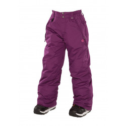 pantalon 686 mannual brandy plum fille
