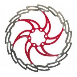 disque XLC  argent/rouge