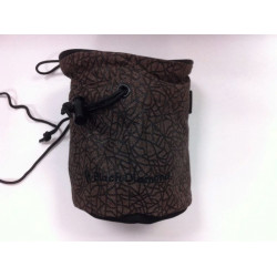 Black diamond chalkbag marron