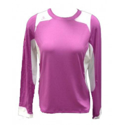 Maillot Scott Sumita manches longues femme old rose