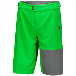 Short Scott Trail 30 ls/fit w pad online green/dark grey