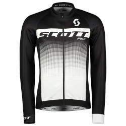 SCOTT RC AS WP L/SL Black / White