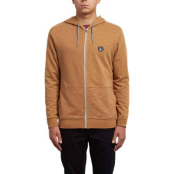 Sweat Volcom Litewarp Zip hazelnut