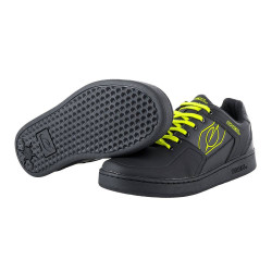 Oneal Pinned Flat Pedal Shoes Neon Yellow