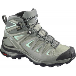 Salomon X Ultra 3 Mid GTX femme shadow / castor gray