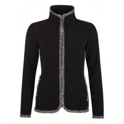 Protest Larraine Full Zip Top femme black
