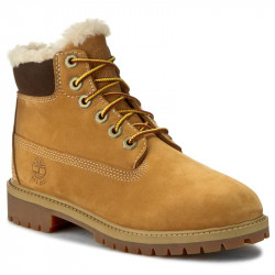 Timberland 6in Premium WP Shearling wheat junior