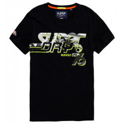 T-shirt Superdry Photographic Drop Eclipse Navy