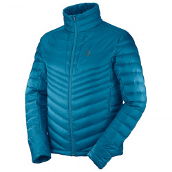 Salomon Haloes Down jacket moroccan blue