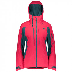 Veste Scott Ultimate GTX Femme Hibiscus Red / Green