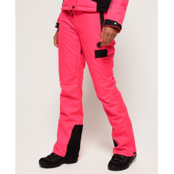 Pantalon Superdry femme New Snow Acid Pink