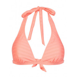 Protest MM Mob Bcup Halter Bikini Top coral blaze